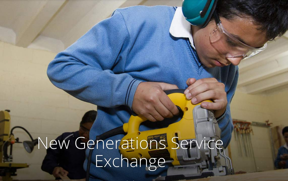 Vocational training exchange from rotary