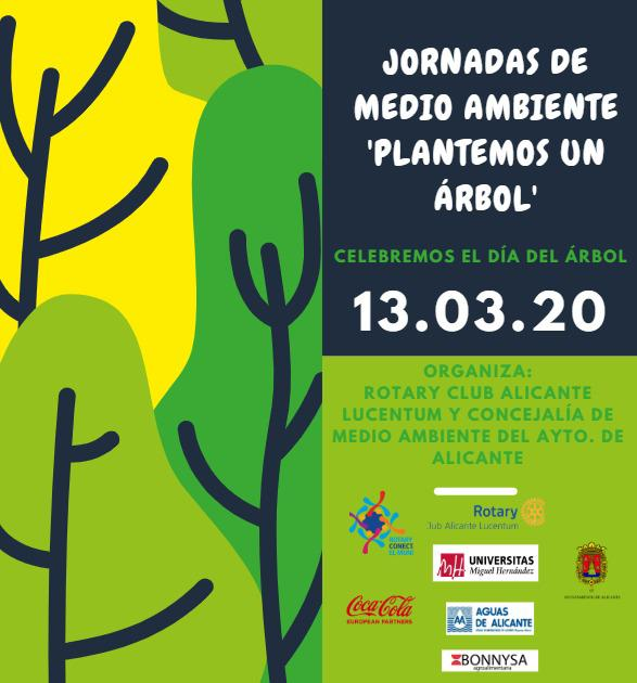 1400 árboles rotarios en Alicante