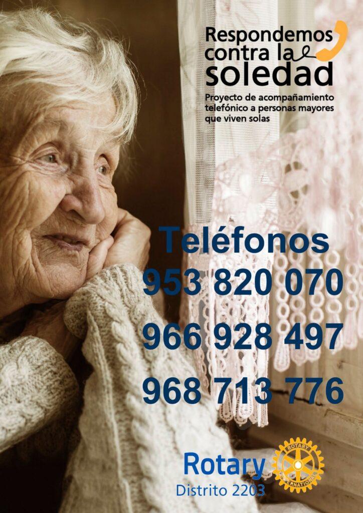 asistencia telefónica a personas mayores