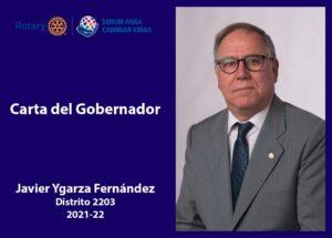 Carta Gobernador Javier Ygarza