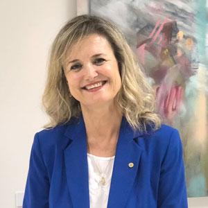 Olga Castelucchi Coordinadora del distrito 2203 Empoderamiento de las niñas
