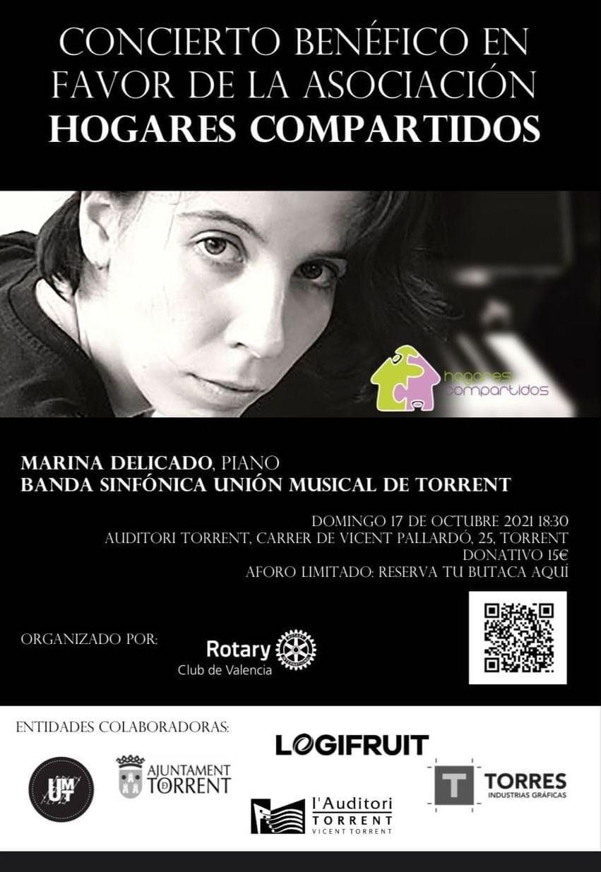 concierto benéfico RC Valencia